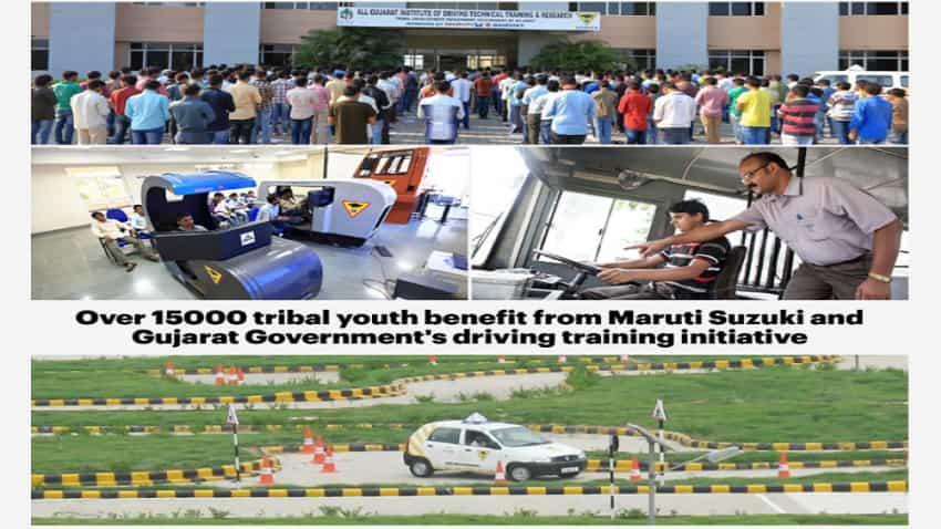 Maruti Suzuki trains 15000 tribal youths, makes them employable
