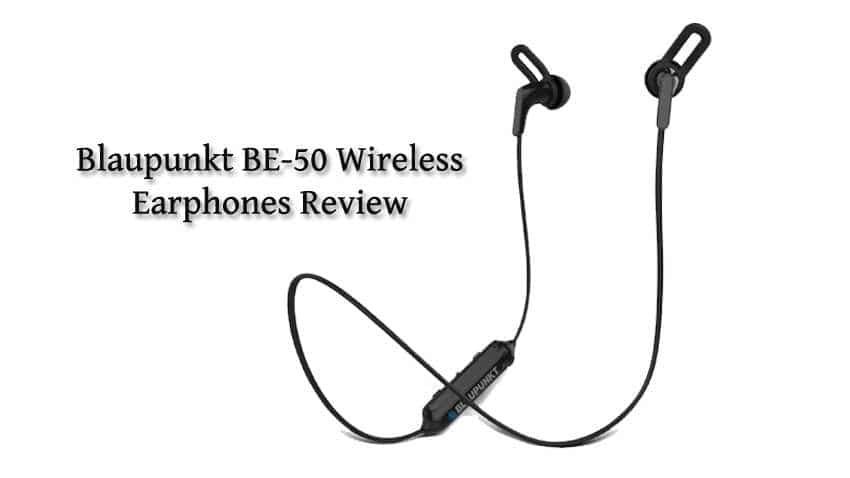 Blaupunkt BE-50 wireless earphones review: Affordable and unbelievably loud option for music lovers