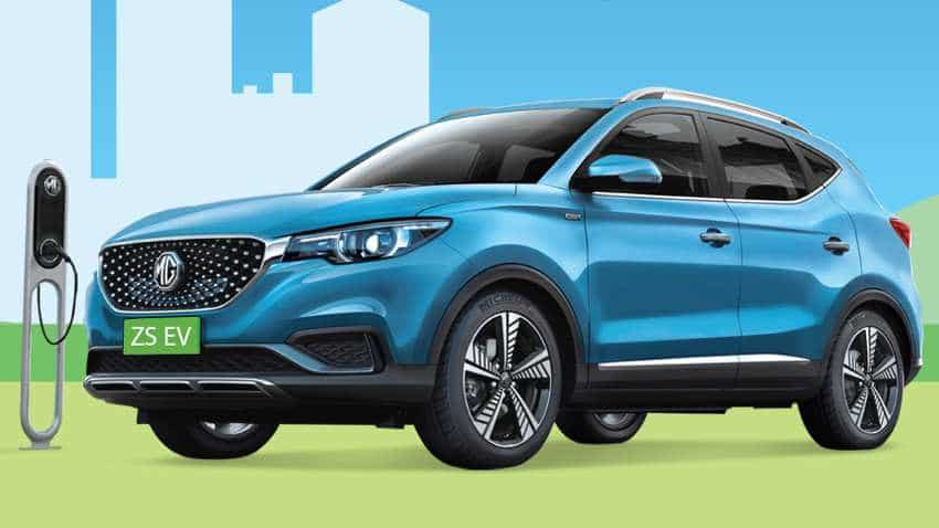 LIVE: MG ZS EV launch - Catch latest news updates, price, pics, specs, features and other details