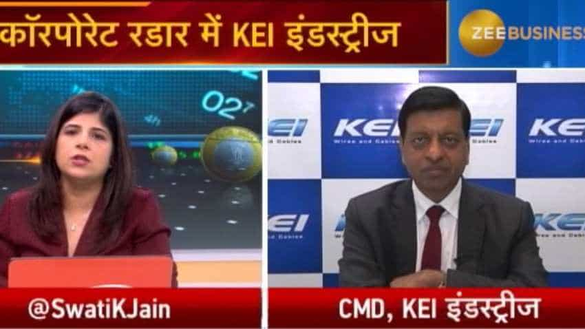 KEI Industries order book stands at Rs4,500 crore: Anil Gupta, CMD