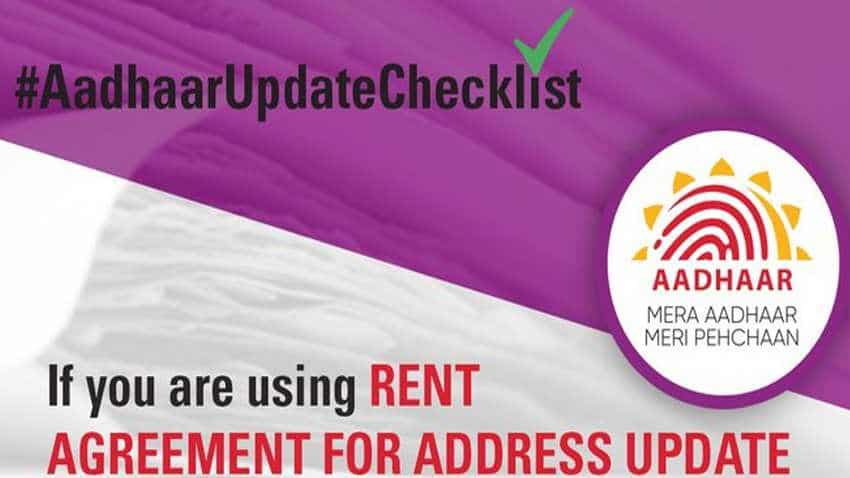 Aadhaar card address update using rent agreement: This is how to do it as per UIDAI