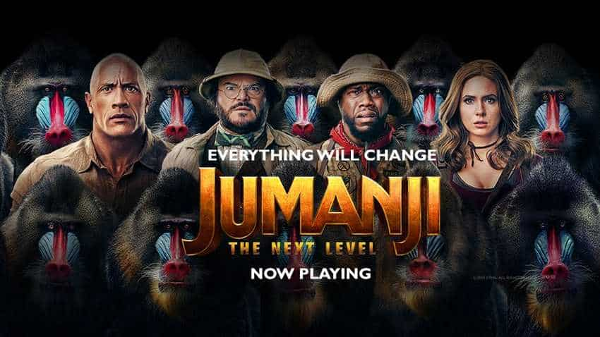 Jumanji: The Next Level Box Office Collection: Superb growth! Check total earnings of The Rock Dwayne Johnson movie