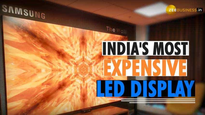 Samsung The Wall: What's special about this 292-inch microLED display that costs up to Rs 12 cr