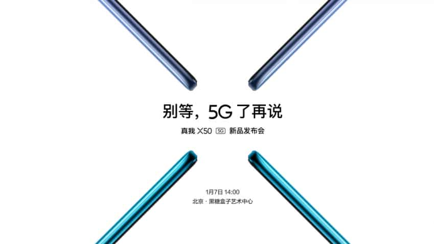 Realme X50 5G smartphone to launch on January 7: What to expect