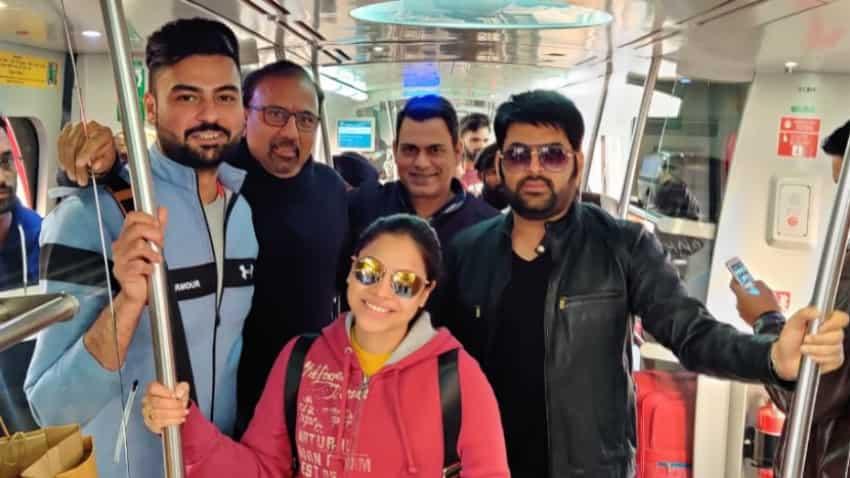 Kapil Sharma tweets metro ride pics; fans remind ''no photos please''