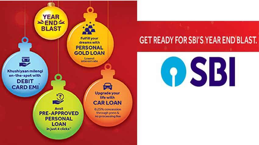 Online SBI: Amazing offers! State Bank of India set to unveil Year End Blast - All you need to know