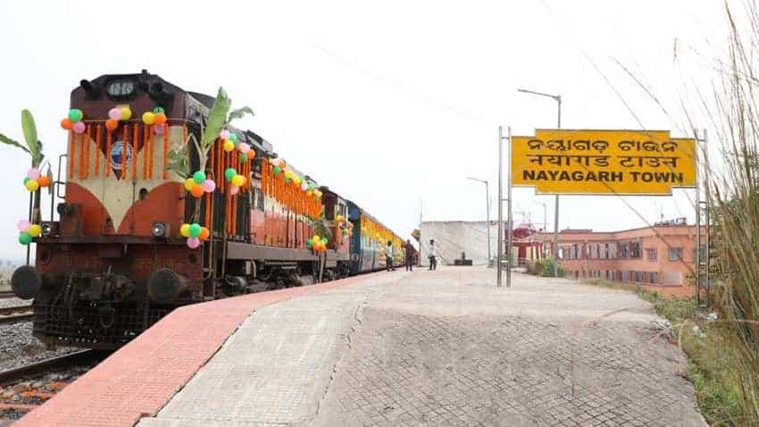 Bhubaneswar-New Delhi Rajdhani Express flagged off by Dharmendra Pradhan