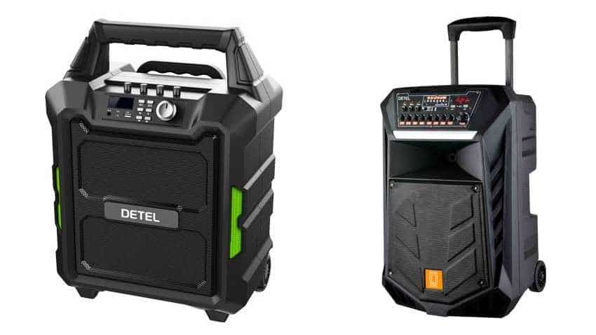 Detel launches Thump and Thunder trolley speakers in India: Check price, features and how to buy