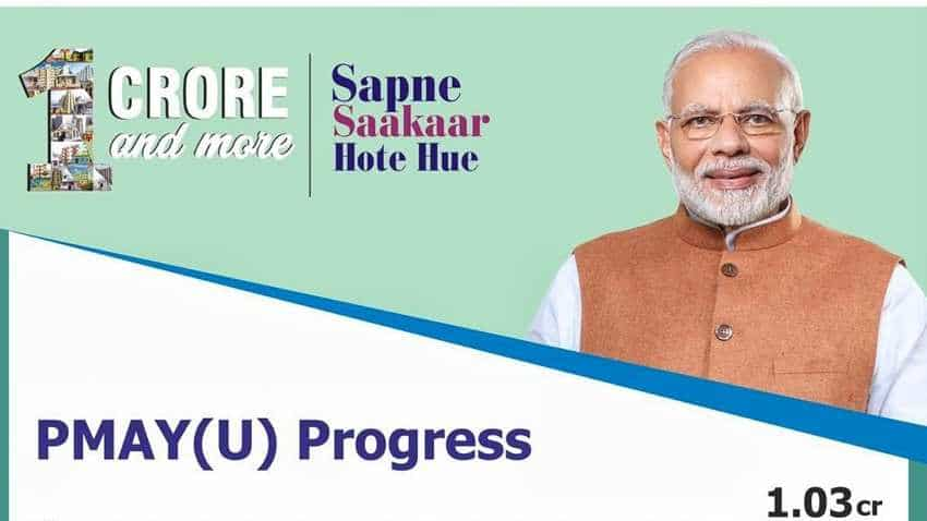 PMAY: Momentous achievement for Modi government's flagship mission - Over 1 crore homes sanctioned!