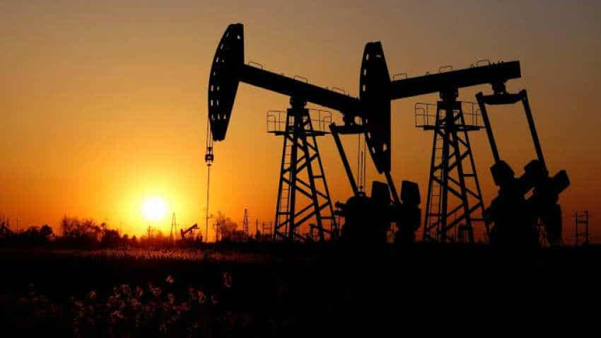 Oil prices edge down but set for biggest yearly rise since 2016