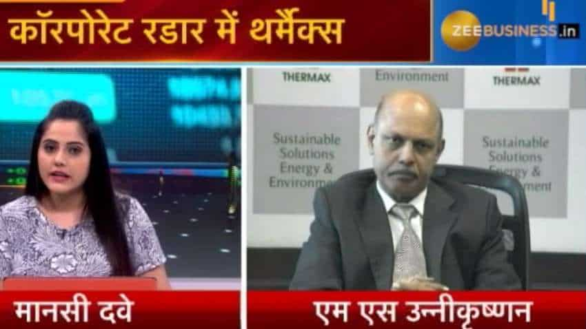 Rs 100 lakh crore investment plan will have trickle impact; It will create Jobs: MS Unnikrishnan, MD & CEO
