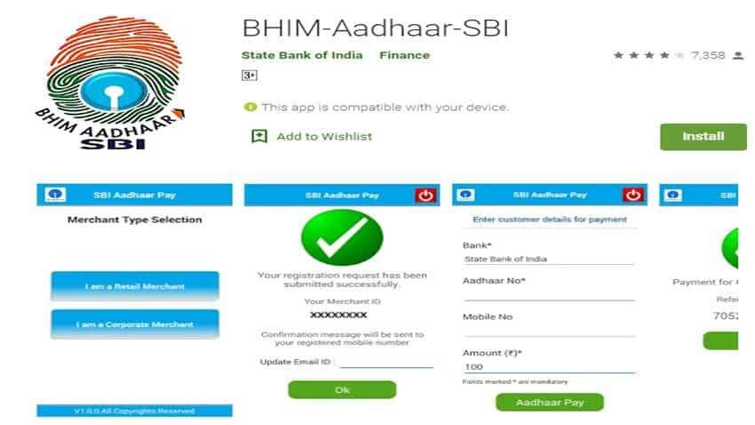 SBI: Big announcement! No card, no cash, no problem! Revolutionary mode of payment BHIM-Aadhaar-SBI is here