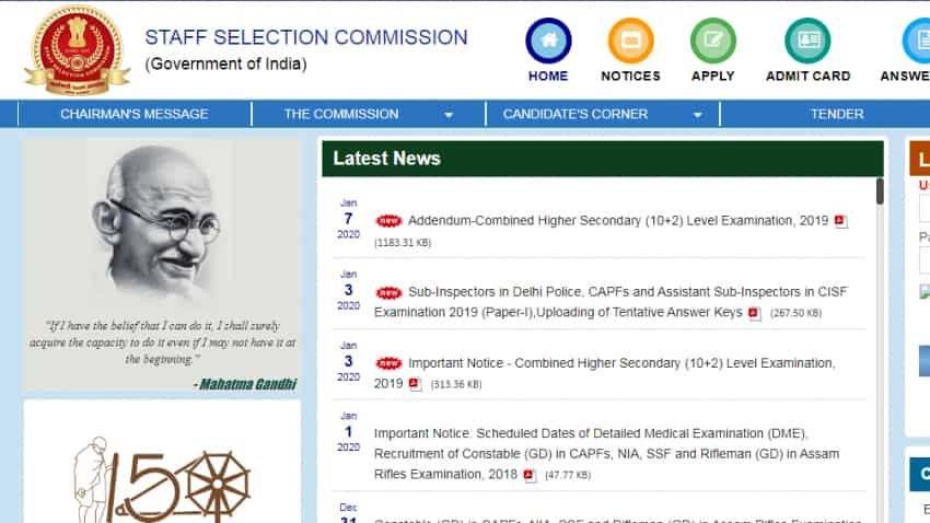 SSC CHSL 2019-20: Taking this exam? Last date is near, here is how to apply at ssc.nic.in