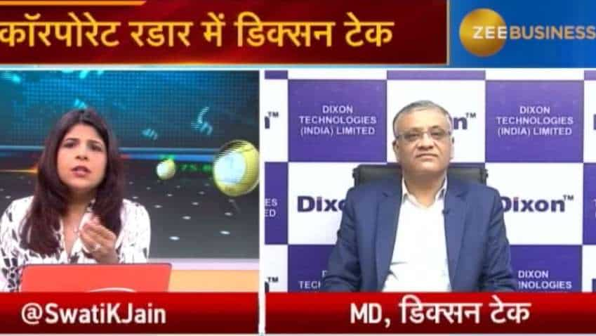 Dixon's LED TVs capacity will be increased to 44 lakhs from 36 lakhs: Atul B Lall, MD