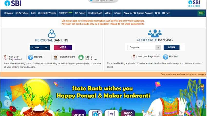 OnlineSBI: How to link Aadhaar card through State Bank of India website