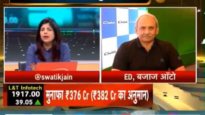 Budget 2020 Expectations: Bajaj Auto ED Rakesh Sharma wants GST rebate for the two-wheeler industry