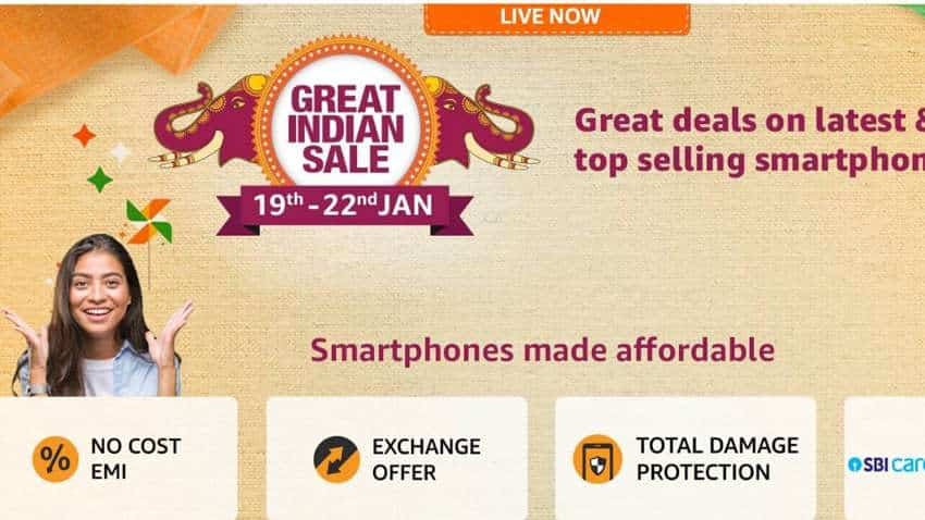 Amazon Great India Sale: Xiaomi, Samsung, Vivo, Realme - Top deals on smartphones