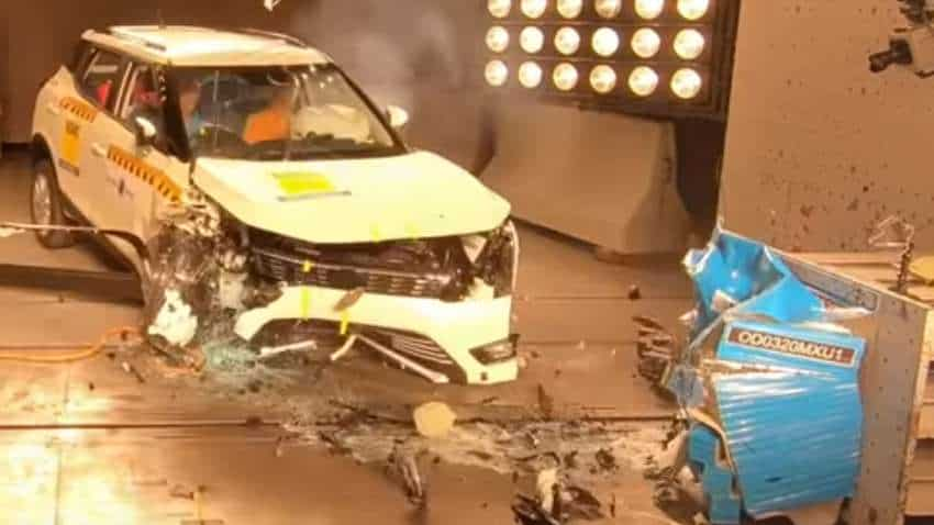 Crash test VIDEO: Amazing! Mahindra XUV300 becomes 1st Indian vehicle to score 4-star child safety rating