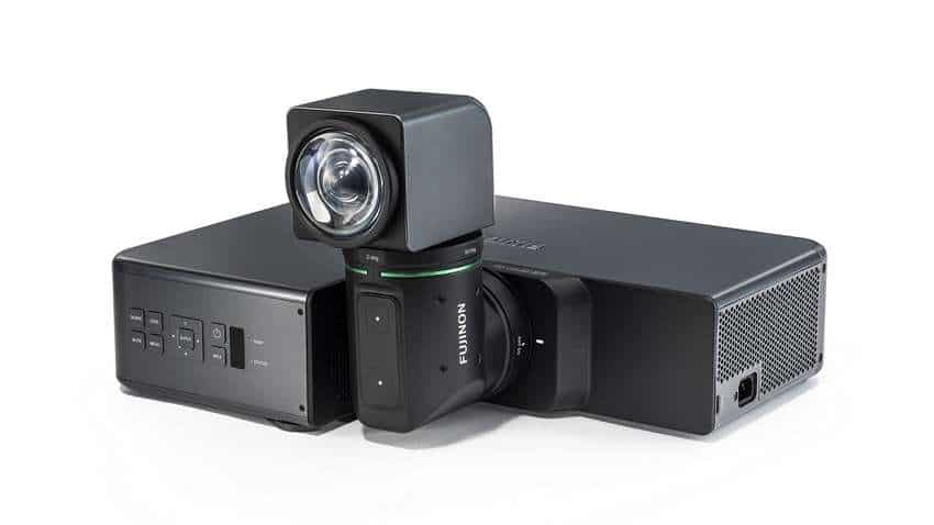 Fujifilm launches projector Z5000 with world's first folded two-axial rotatable lens
