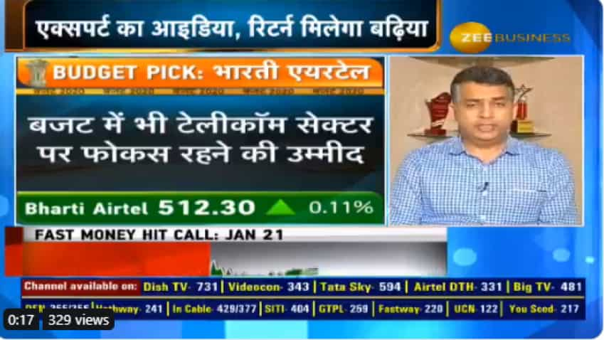 Budget My Pick: Include Bharti Airtel in your portfolio; expert explains why