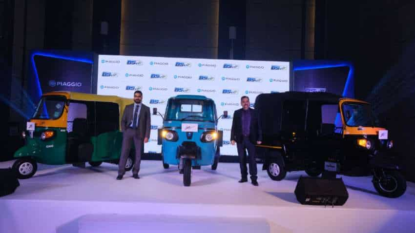 Piaggio becomes first 3-wheeler manufacturer in India to upgrade entire range to BS6