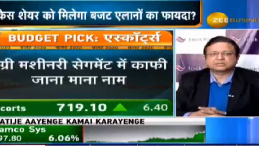 Budget MyPick: Here is the share Enoch Ventures' CEO Vijay Chopra is putting his money on