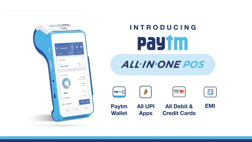 Big Paytm boost for small business! Launches All-in-One Android POS