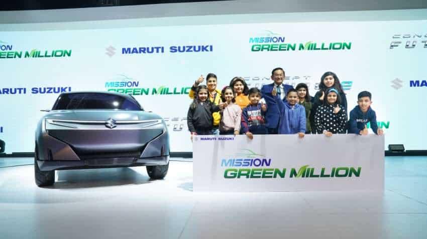 Auto Expo 2020: Maruti Suzuki showcases SUV FUTURO-e; electric WagonR on cards too
