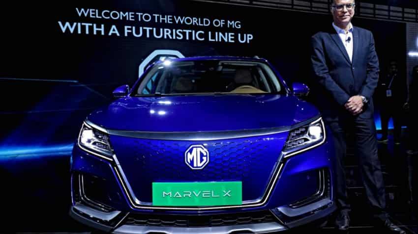 Auto Expo 2020: MG Motor unveils sports utility vehicle Marvel X