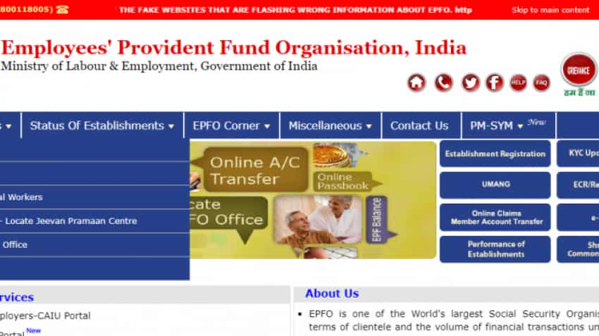 EPFO: How to submit EPF Claim online on death of beneficiary