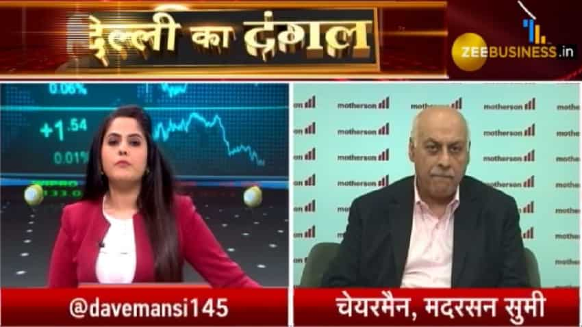 Demand surge can be seen from Q1FY21: Vivek Chaand Sehgal, Motherson Sumi