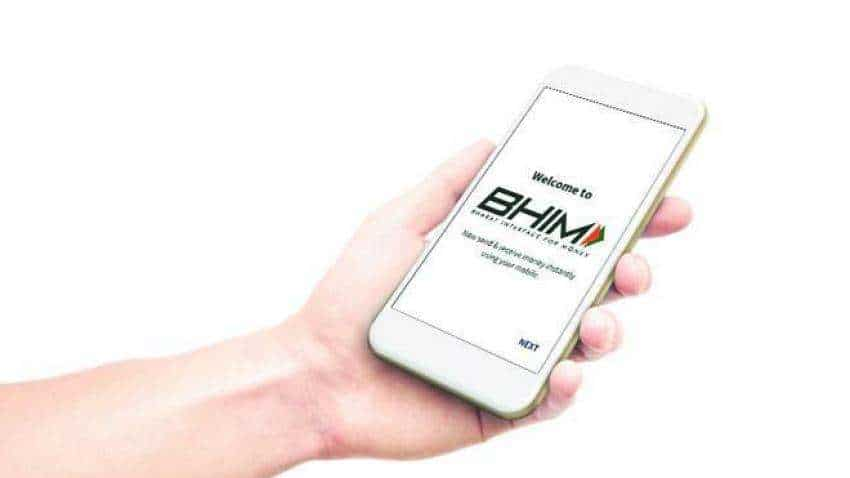 BHIM app to the forefront: Donations to akharas turn cashless in Magh Mela