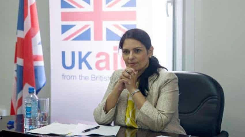 Priti Patel launches UK's 'historic' points-based visa system.