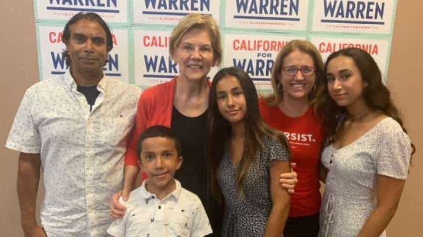 Elizabeth Warren has an India connection in son-in-law