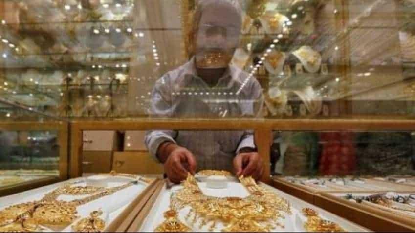 Gold price today: Yellow metal soars Rs 953 on weaker rupee, global cues