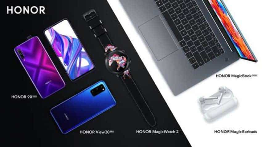 Honor View 30 Pro, 9X Pro, MagicBook, Magic Earbuds launched; all you need to know