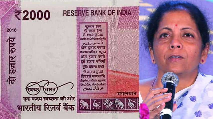 Rs 2000 Notes ATMs News: No confusion now! Nirmala Sitharaman clears the air - Check what she said