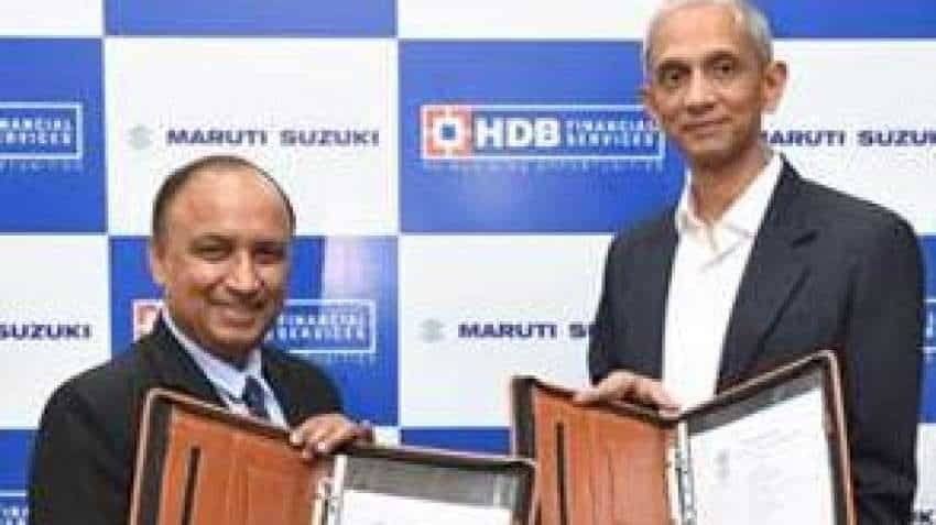 Maruti Suzuki partners with HDB Financial Services to facilitate easy car loans for customers