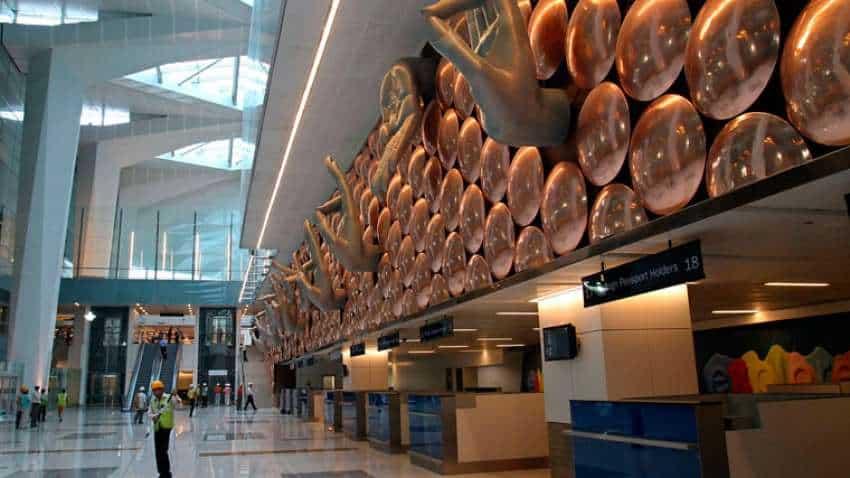 Delhi airport (IGIA) named world's best airport,  beats Singapore's Changi Airport, Shanghai's Pudong!