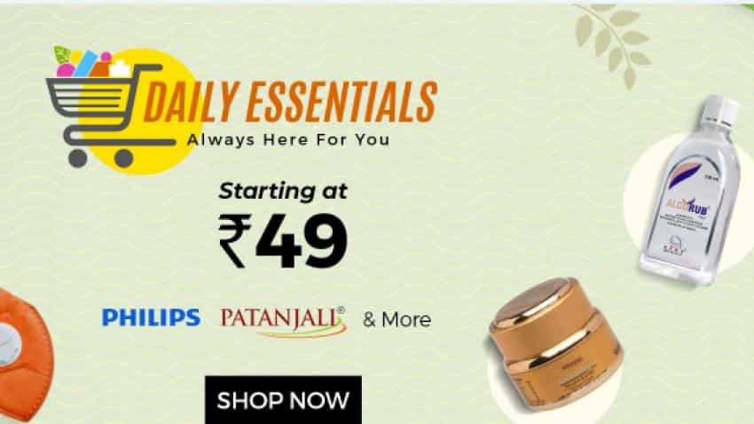ShopClues essentials sale; prices start at Rs 49 - Sanitizers, masks, foods, groceries, medicines available on  ShopClues.com