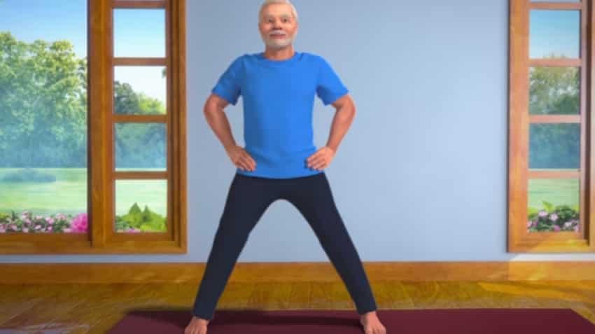 Narendra Modi Yoga videos: PM shares 3D animated videos on Twitter