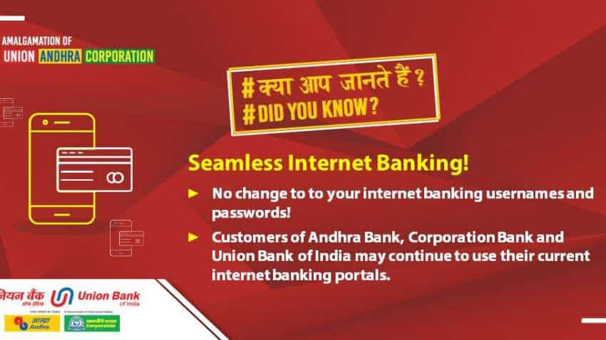 Andhra Bank, Corporation Bank, Union Bank account holders? Your banks set to merge!