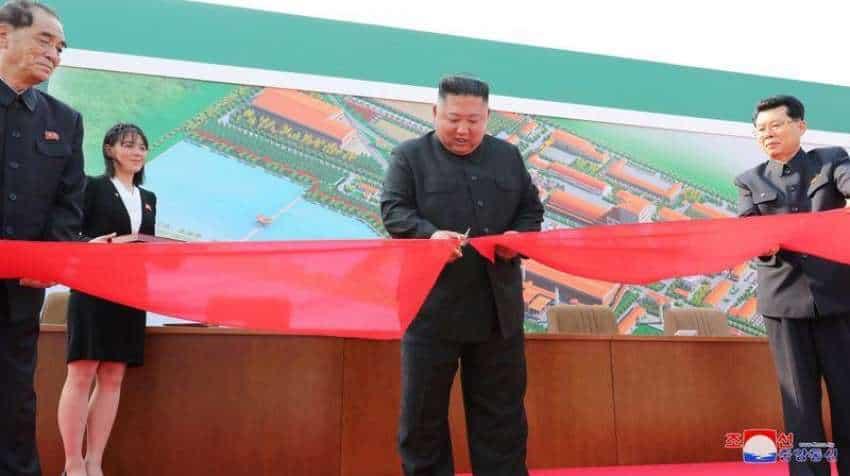 Kim Jong-un appears in public, attends ribbon-cutting ceremony