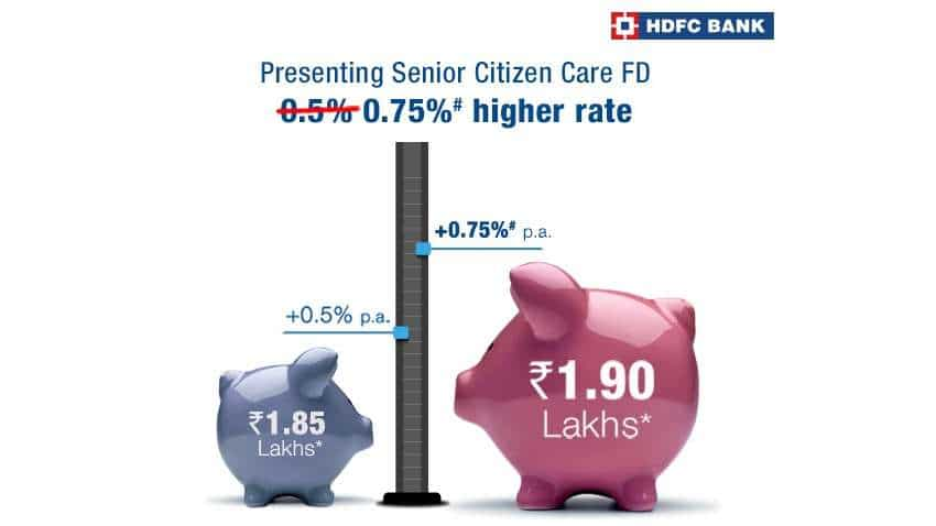 New HDFC Bank FD offer - Get more than ever before | Interest rates, eligibility, documents and more