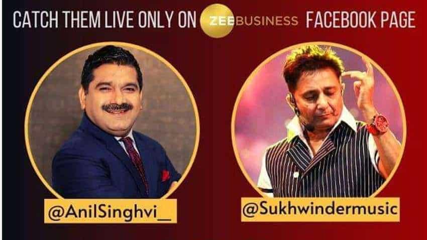 #StarsOnZeeBusiness: Amazing combo of music and market! Anil Singhvi interviews 'Chaiyya Chaiyya' fame Sukhwinder Singh - WATCH FULL VIDEO