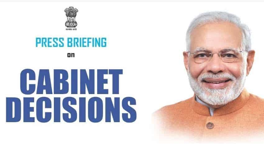 Modi Cabinet Decisions Briefing - Catch Latest Details Here, Watch Full Video Of Press Conference