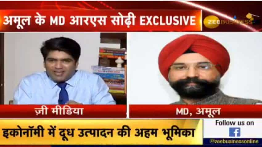 Exclusive: Amul MD RS Sodhi reveals how milk supply remained unimpacted even during lockdown - Watch full interview