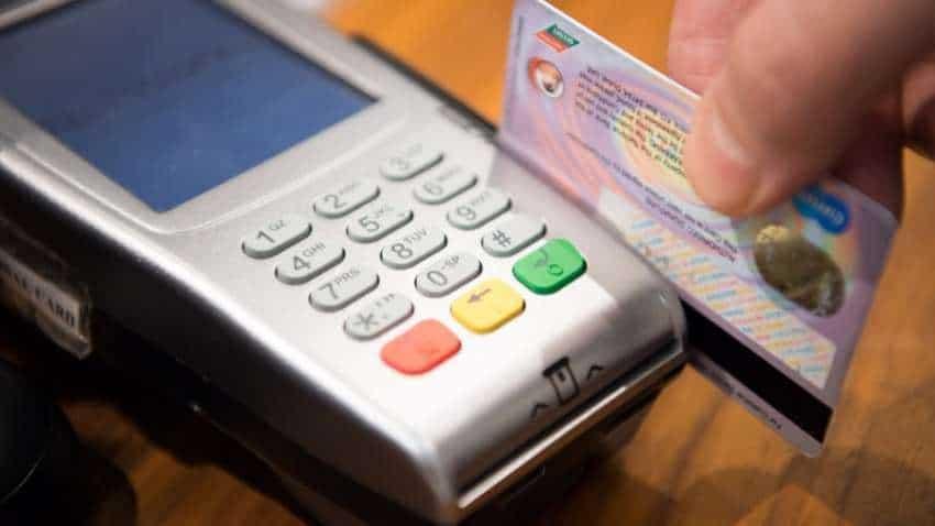 Credit card spending falls 51 pct in April: Survey