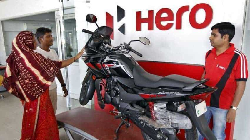 Hero MotoCorp share price declines over 2 pct after Q4 earnings