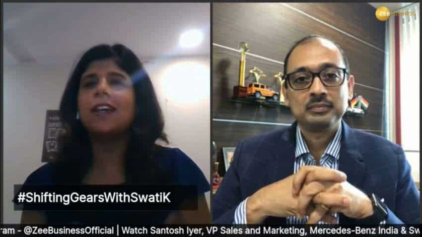 #ShiftingGearsWithSwatiK: We have tried to Indianise Mercedes GLS, says Santosh Iyer, VP, Sales & Marketing, Mercedes-Benz